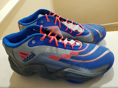 official photos d8e02 f4602 NEW DS Adidas Real Deal Blue Grey Orange Knicks Model   Q32862 Men s Size10