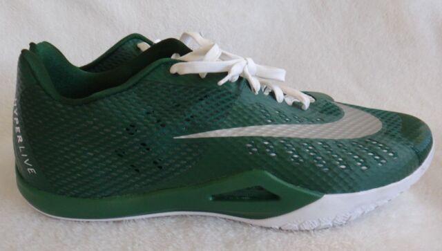 huge discount 981db 8bdfc Nike Basketball Shoes Mens Size 18 Green Hyperlive for sale online   eBay