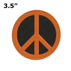 Peace Sign Love Iron on Patch
