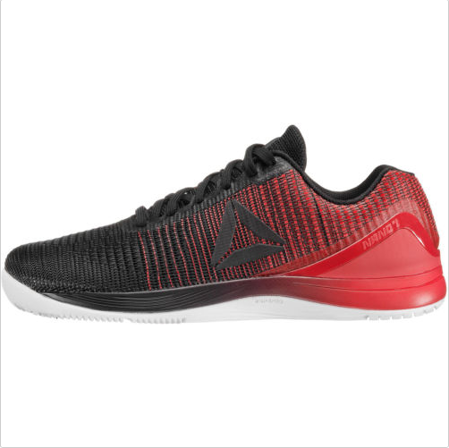 Nuevo Reebok Crossfit Nano 7.0 Tejido Hombre Zapatos Rojo Negro Entrenamiento