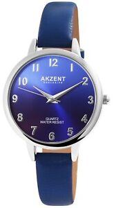 Akzent-Damenuhr-Blau-Lila-Analog-Kunst-Leder-Quarz-Armbanduhr-X1900233003