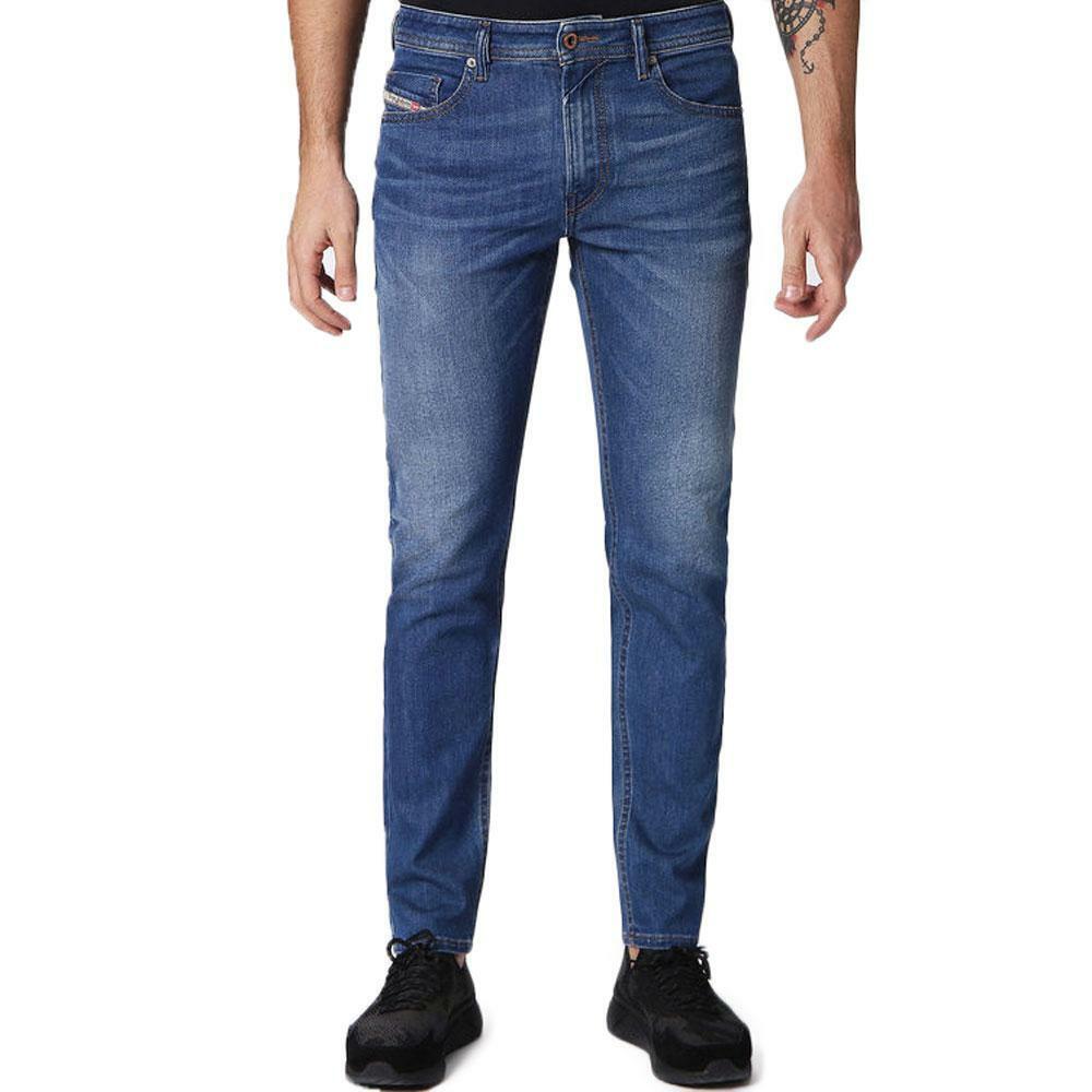 Diesel Thommer 084RM  Skinny Fit Stretch Jeans - bluee  WASH Denim