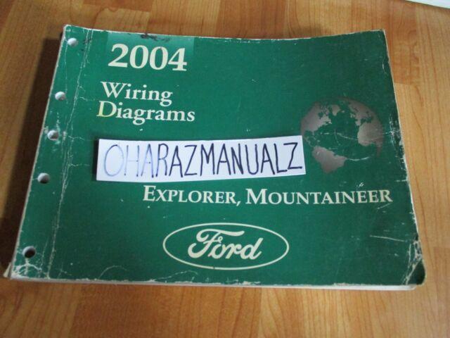 2004 Ford Explorer Mercury Mountaineer Wiring Diagrams