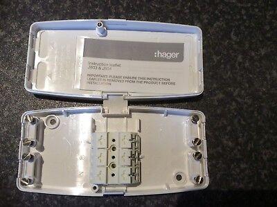 10 x hager ashley J804 17th édition 4 terminal sans entretien boîte de jonction