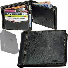 FOSSIL Außenfachfach Börse Leder Geldbeutel Portemonnaie Geldbörse Portmonee NEU