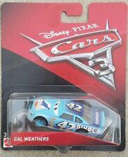 DISNEY PIXAR CARS 3 CAL WEATHERS DINOCO #42 PISTON CUP RACER KING'S SON MIP RARE