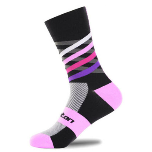 Cycling Socks Bike Racing Riding Tri MTB Pro Sports Calf Socks ship from USA