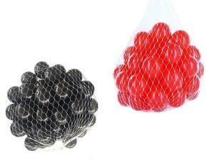 100-10000 Balles Punch 55mm Mix Rouge Noir Couleurs Mixtes Baby Balls