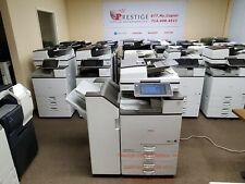 Ricoh Mp C6003 Color Copier Printer Scanner Low Meter Only 83k
