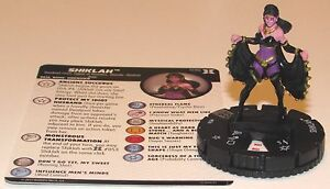 SHIKLAH 036 Deadpool and X-Force Marvel HeroClix Rare