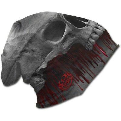 Spiral Direct DEATH ROAR Light Cotton Beanies Gray/Skull/Reaper/Hat/Soul/Dark