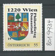 Österreich PM personalisierte Marke Philatelietag 1220 WIEN 8019934 **