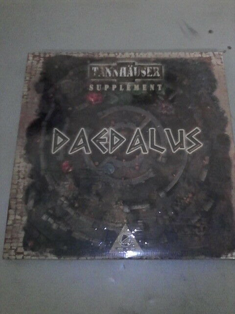 TANNHAUSER   DAEDALUS expansion map - hard to find   NEW IN SHRINK