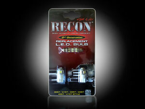 Recon LED Dome Light Kit 04-14 Ford F150/09-14 Ford SVT Raptor Bulb Replacement