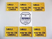 Brinks Home Security+ Pulse Camera System Warning Window Sticker Decal Sign