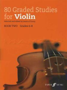80 Classés Studies For Violin Book 2 Grades 6-8 Partitions Livre Jessica O 'leary-afficher Le Titre D'origine Sensation Confortable