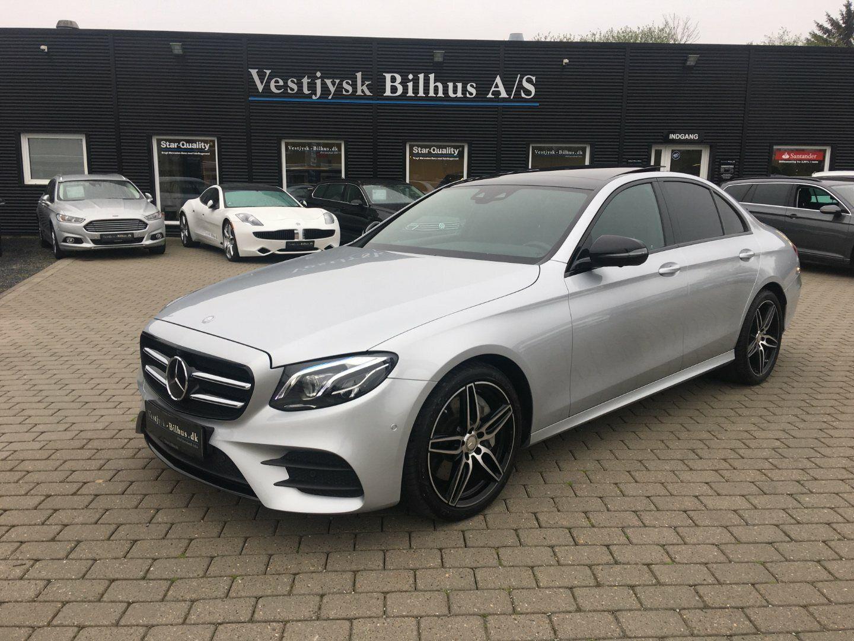 Mercedes E350 d 3,0 AMG aut. 4d - 3.607 kr.