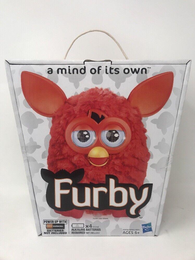 Furby Orange - rote phoenix new in box elektronisches haustier 2012