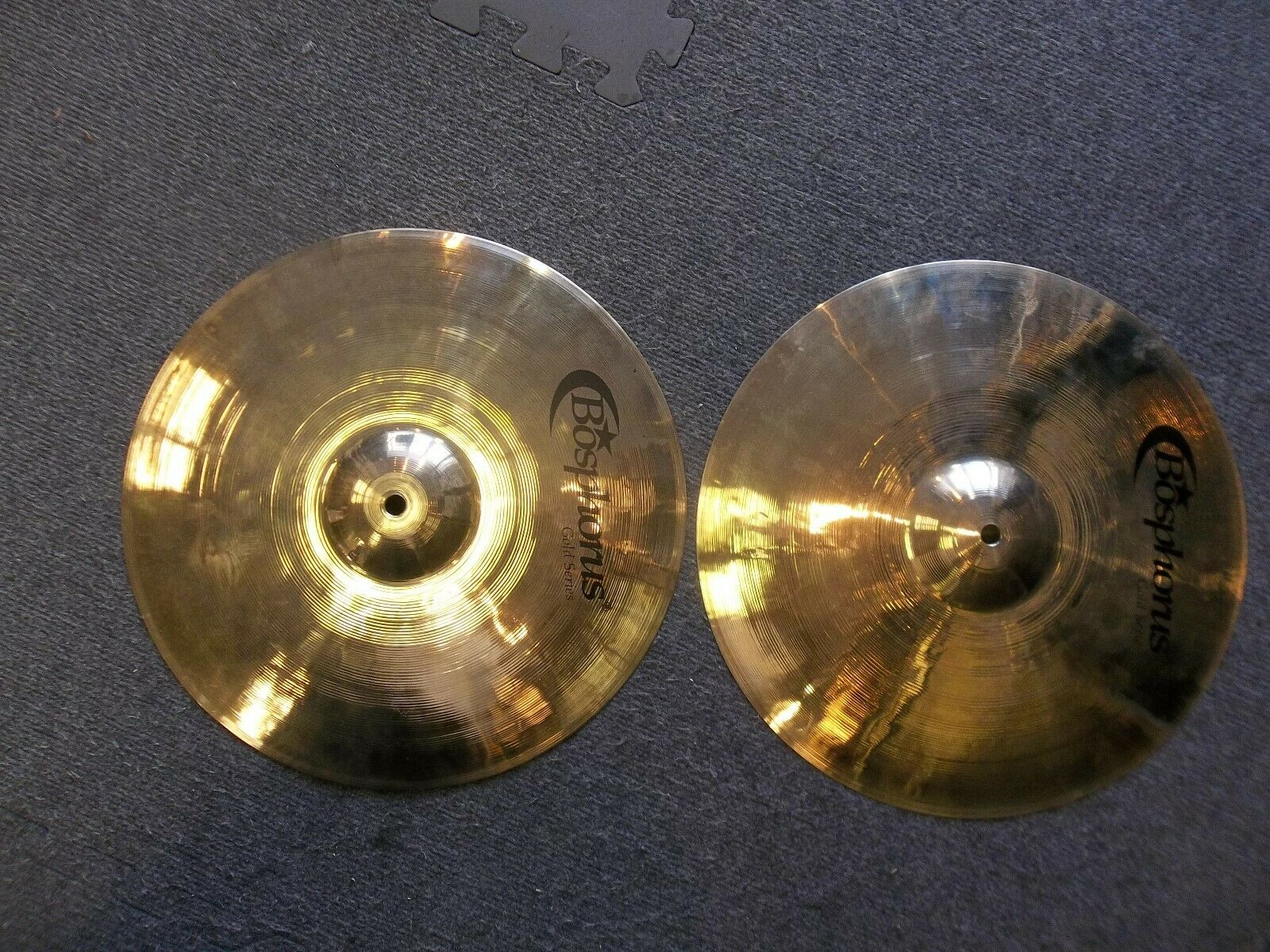 Bosphorus Gold Series 14  (35cm) set. Hi-hats. New, Fast, free shipping.