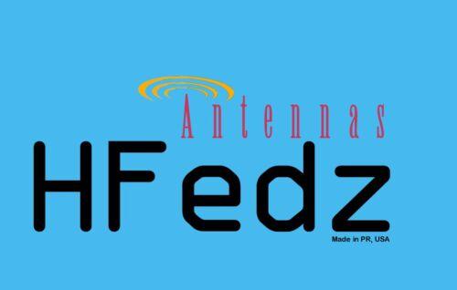 HFedz Windom OCFD 80m-6m HF antenna @200W Ham Radio Antenna