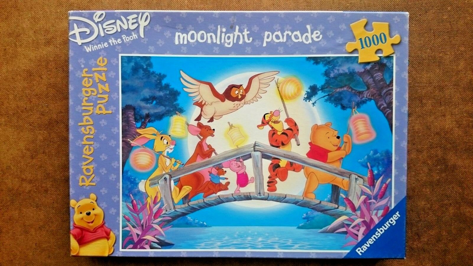 Winnie the Pooh  Moonlight Parade 1000 Piece Jigsaw Puzzle By Ravensburger