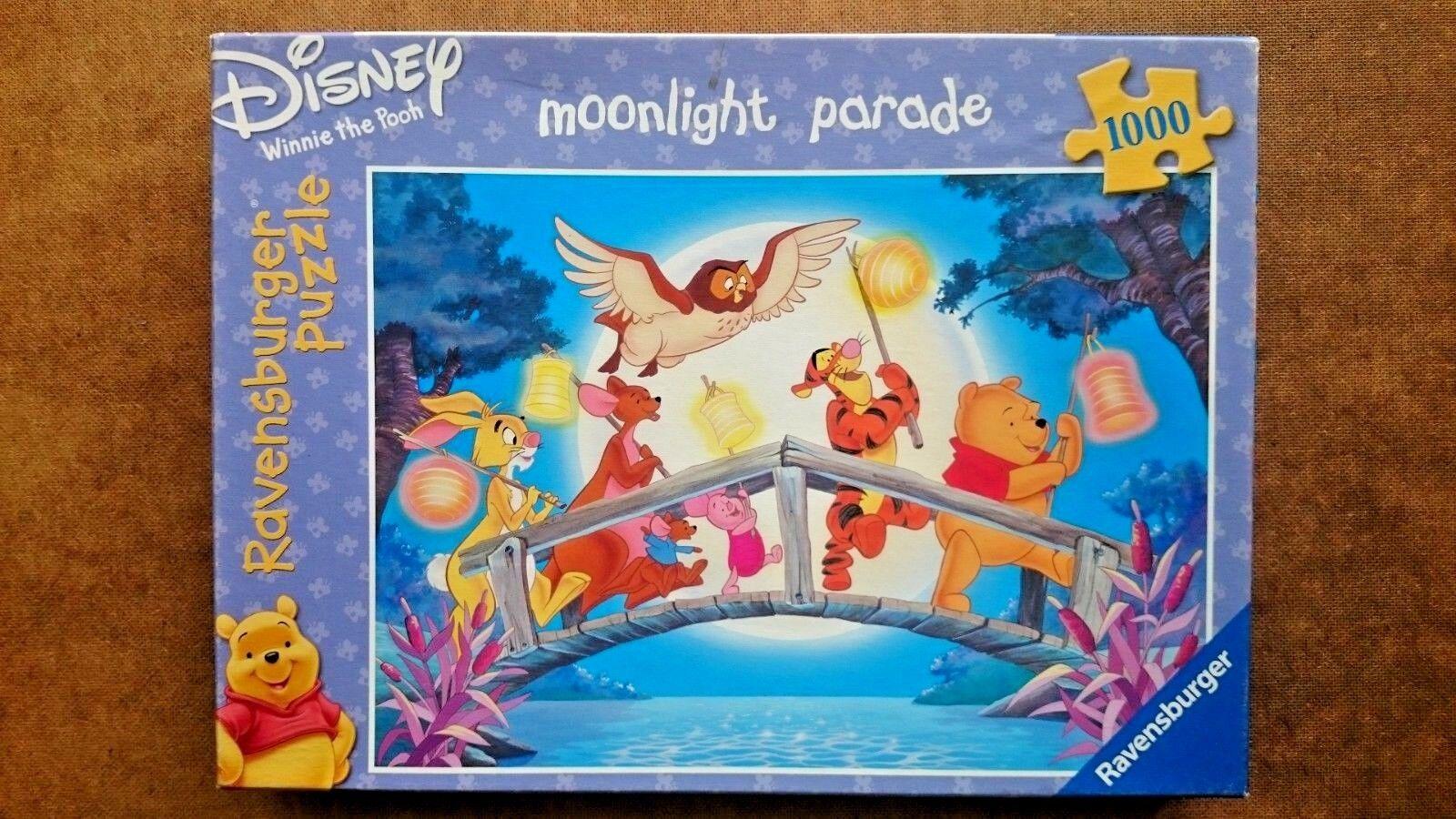 Winnie THE POOH  Moonlight PARADE  Puzzle 1000 PEZZI DA RAVENSBURGER  nuovo di marca