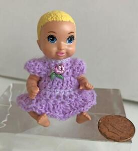 Barbie-Skipper-Babysitters-Inc-Tiny-2-1-2-034-Custom-Dressed-Baby-Doll-Lot-SB-8-USA