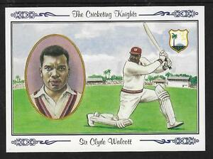 COUNTY-PRINT-1994-SIR-CLYDE-WALCOTT-West-Indies-No-5-CRICKETING-KNIGHTS-Series