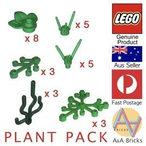 Genuine-LEGO-PLANT-PACK-Brand-New-Parts-MOC-Garden-Grass-Tree-Bush