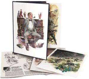 Rene-Follet-illustre-l-039-histoire-portfolio-neuf-TL-125-ex-numerote-et-signe