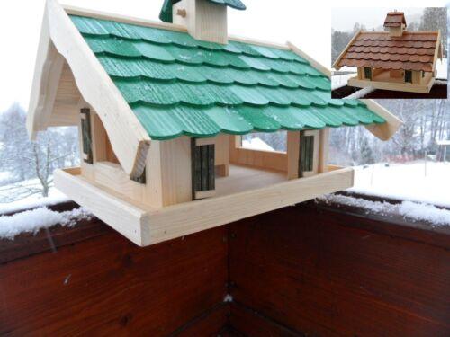 Futtersilo Futterhaus Vogelfutter Vogelhaus Vogelvilla Vogel Schreiner Holz Top