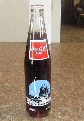 full unopened bottle Coca-Cola 10 oz North Dakota 100th 1989 Centennial Seal
