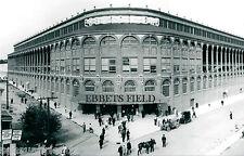 Baseball  Ebbets Field Brooklyn Dodgers National League Vintage Sports Photo