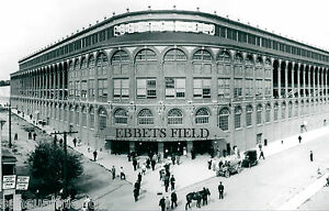 Baseball-Ebbets-Field-Brooklyn-Dodgers-National-League-Vintage-Sports-Photo