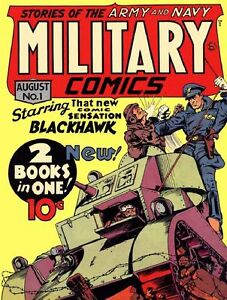 MILITARY COMICS GOLDEN AGE COLLECTION PDF FORMAT ON CD