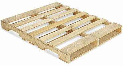 """Recycled Wood Pallets - 48"""" x 40"""" 4-Way Pallet - FREE SHIPPING eBay"""