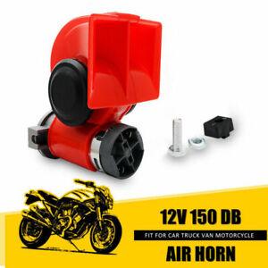 Air-Explosion-klaxon-12V-24V-150dB-Voiture-Camion-SUV-DoubleTon-Bruyant-Campeur