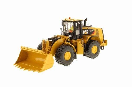 Hay más marcas de productos de alta calidad. 85296 Cat 980k Wheel Loader Loader Loader w rockcon, 1 50 Cat  grandes ofertas