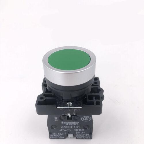 1pc Nuevo Schneider Verde Interruptor de botón de reinicio XA2EA31 22mm