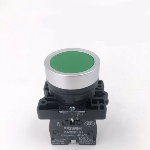 1pc New Schneider Green Reset button switch XA2EA31 22mm