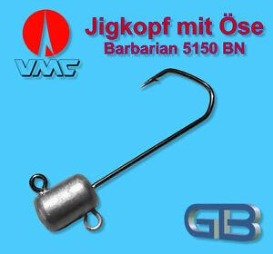 58g 70g Jig 5//0-6//0 Bleikopf VMC Barbarian 5150 RD Meeresjig Dorschbombe 43g