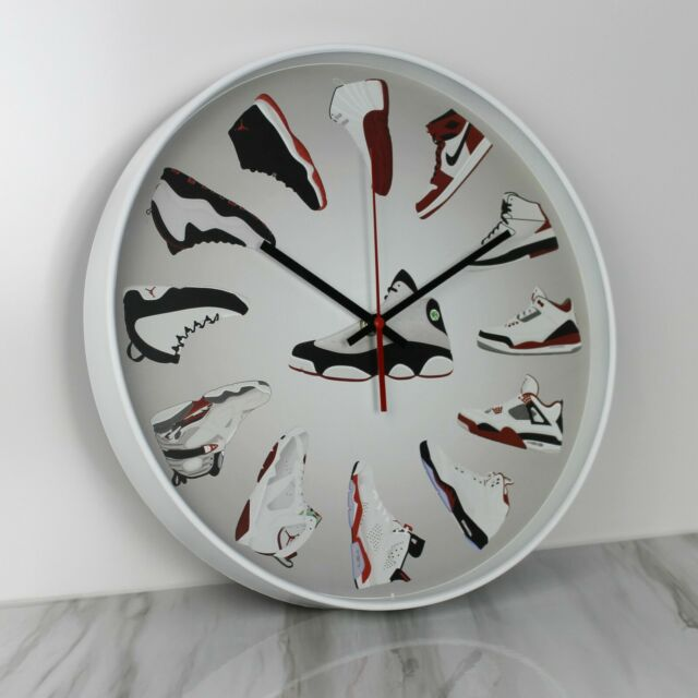 Nostalgic Wall Clock Vintage  Bicycle Acryl Acrylglass