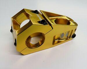 Bicycle Stem Box One Delta 60 mm x 31.8 mm x 28.6 mm Gold BMX MTB ATB