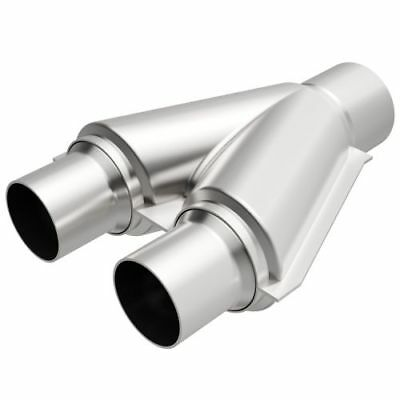 "Magnaflow 10778 Exhaust Tru-Y Pipe 2.5/"" Dual Inlet//3/"" Single Outlet"
