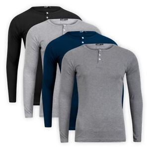 Men-Casual-Classic-Cotton-Long-Sleeve-T-Shirt-Crew-Neck-Casual-Top-Sweater-Tee