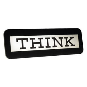 IBM-THINK-SIGN-IBM-Computer-Desk-Accessory-Collectible-Executive-Student-Gift