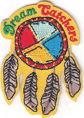 """DREAM CATCHER"" Iron On Patch -SOUTHWEST-WESTERN-NATIVE AMERICAN"