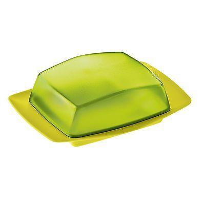 Koziol Rio Butter Dish Solid Mustard Green/ TransparentOliv Green