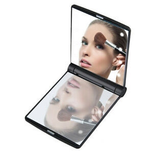 Makeup-Compact-Mirror-Cosmetic-Folding-Portable-Pocket-with-8-LED-Lights-Lamps