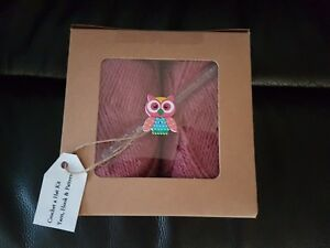 Crochet A Hat in a Box Gift Set Birthday present or Easter or get well soon